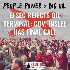 EFSEC Rejects Oil Terminal