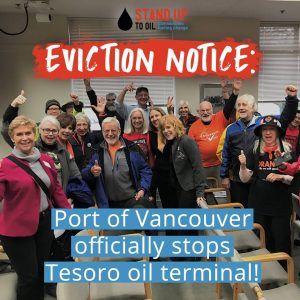 Oil terminal eviction notice